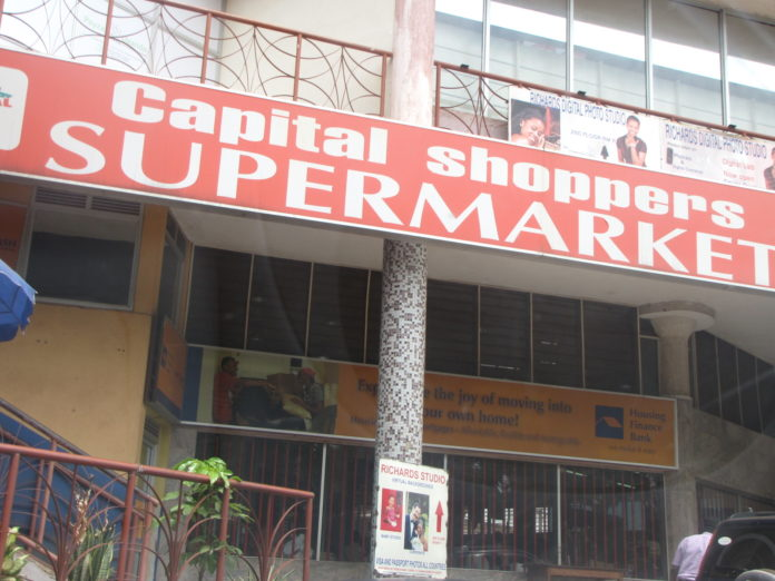 """One of Uganda's legitimate and respected supermarkets Capital shoppers supermarket has made the supermarket business even more interesting by introducing a favorable discount for all its loyal customers at all their branches, Capital Shoppers Ntinda, Capital Shoppers Garden City, Capital Shoppers Lugogo and others. They have reduced prices on different items like groceries, clothing and several others which has excited its customers. The retail business in Uganda has been steadily over the recent years owing to the steady rise of a middle class in Uganda. The growth of a middle class and their need for one stop shopping, the retail business has attracted players from Kenya and South Africa. """"Gone are the days when people used to fear walking into a supermarket. People today are more informed about shopping. Capital Shoppers, is a Ugandan supermarket chain. Capital Shoppers is a wholly Ugandan, privately held company. As of November 2016, Ugandan media reports indicated that the supermarket chain is owned by Mr. and Mrs. Ngabirano As of August 2014 the supermarket chain maintains branches at the following locations:[1] (a) Central Kampala: Dastur Street, Nakasero Hill, Kampala (b) Nakawa Branch: Port Bell Road, Nakawa, Kampala (c) Ntinda Branch: Capital Shoppers Mall, Ntinda Road, Ntinda, Kampala and (d) Garden City Branch: Garden City Mall, Kampala For the best prices, just check into any of the Capital Shoppers branches. For any inquiries +256 701771561 Visit any of their branches for more information Flash Uganda media will keep you updated"""