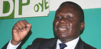 DP's Mao troubled over 'People's Assembly', seeks dismissal of Besigye allied DP members