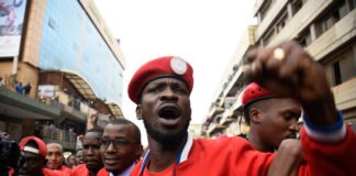 Bobi Wine receives an International Humanitarian award