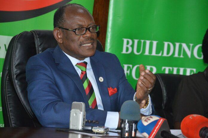 Democratic Party sack Barnabas Nawangwe