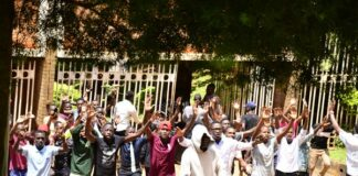 Police Makerere University protests
