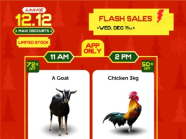 jumia flash sales buy goat