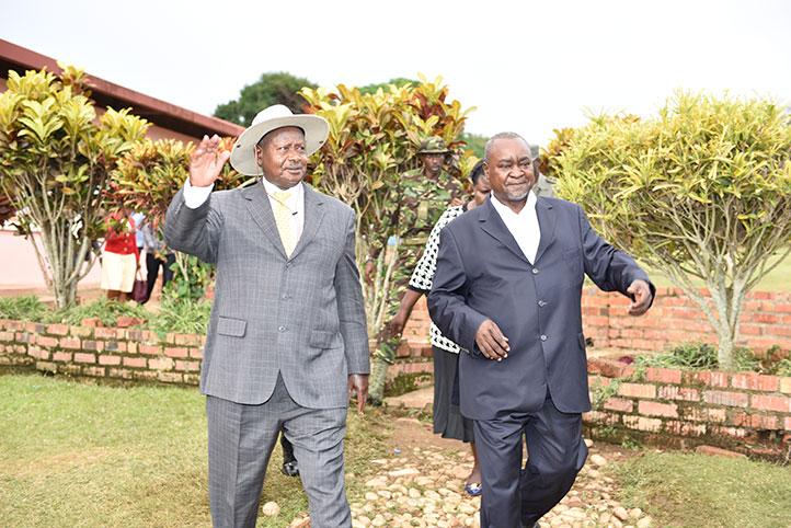 Bukenya replacing Specioza Kazibwe
