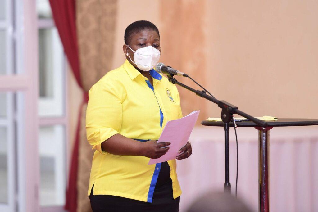 lumumba current Secretary-General of NRM