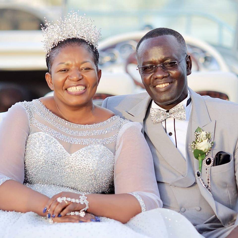 Kasule Lumumba and husband