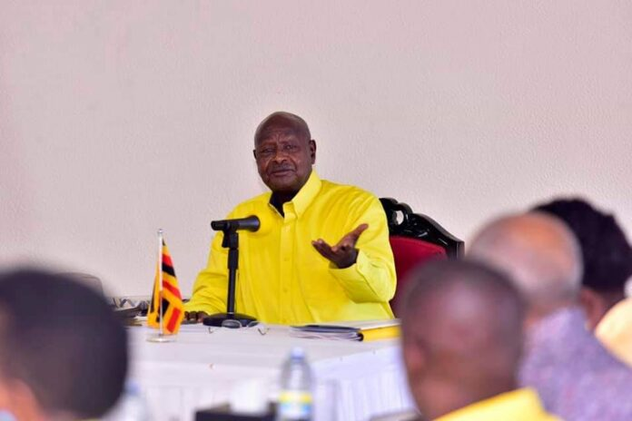 Museveni lashed out at journalists misinform