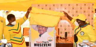 NRM Museveni campaigns in Acholi