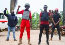 Bobi Wine campaigns in Budaka
