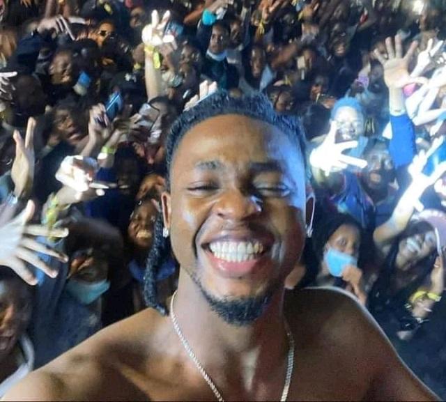Omah Lay concert in Uganda