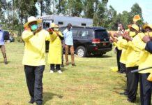 museveni campaigns ankole