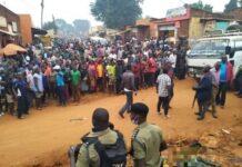 denis awillo omara Shooting in Nansana