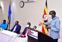 Uganda Opposition Candidates Meet on elections Hotel Africana