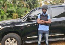 Bobi Wine's Car